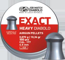 Diabolo JSB Exact Heavy 4,5mm