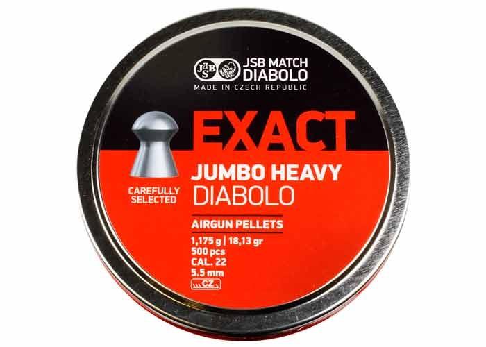 Diabolo JSB Exact Jumbo Heavy 5,5mm