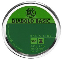 Diabolo RWS Basic 4,5mm