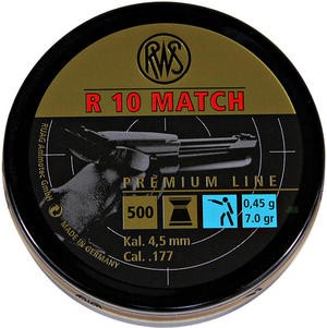 Diabolo RWS R 10 Match zračna pištola 4,5mm