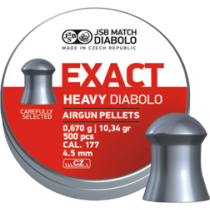 Diabolo JSB Exact Heavy 4,5mm