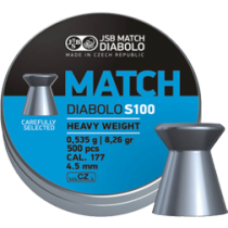 Diabolo JSB Blue Match 4,5mm (0,535g)