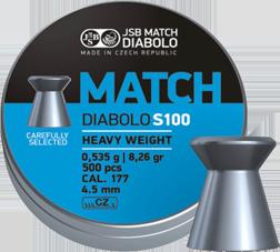 Diabolo JSB Blue Match 4,5mm (0,535g)