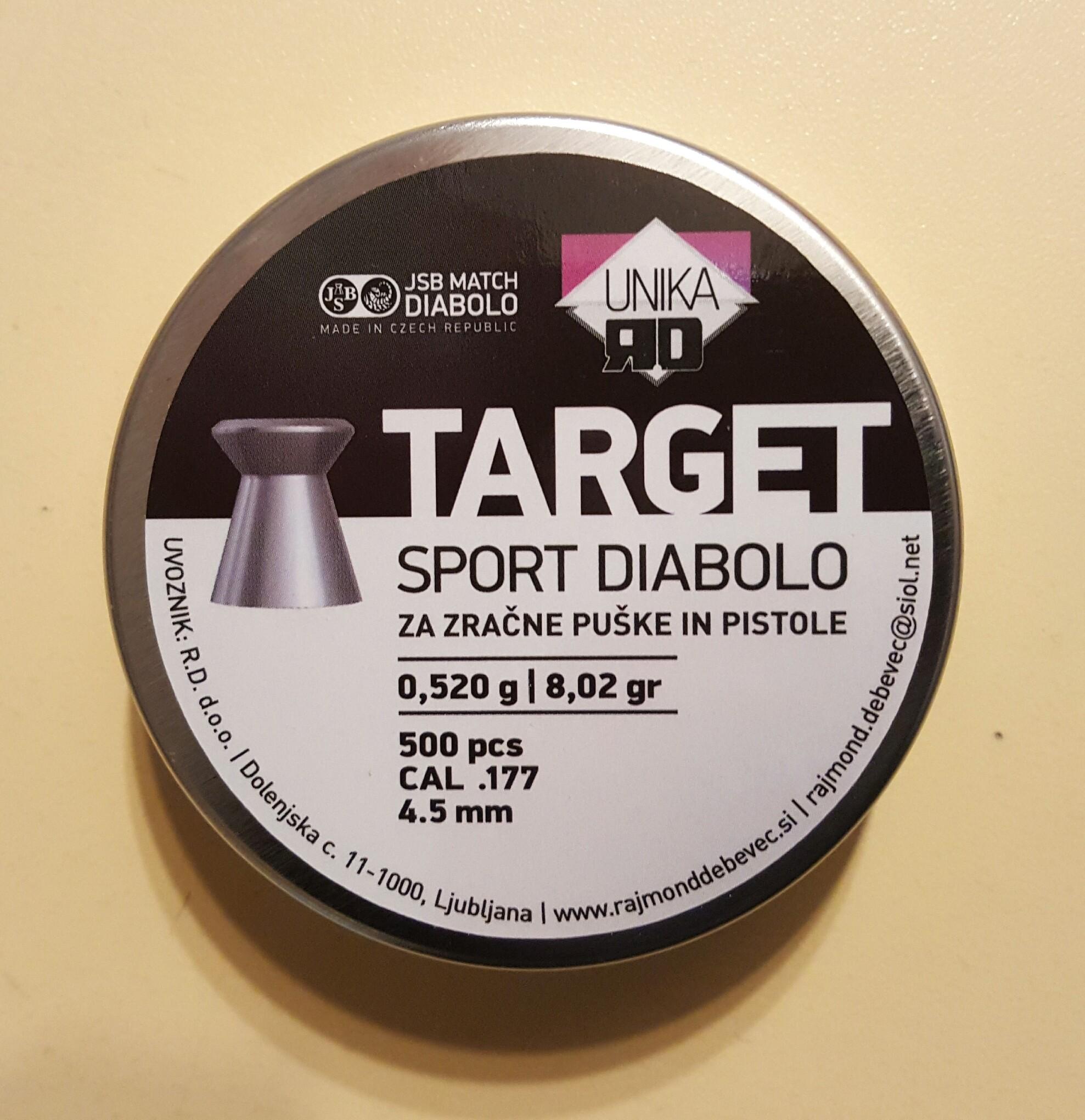 DIABOLO JSB TARGET SPORT