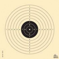 Tarče za serijsko zračno puško R 8 - 1000 kosov
